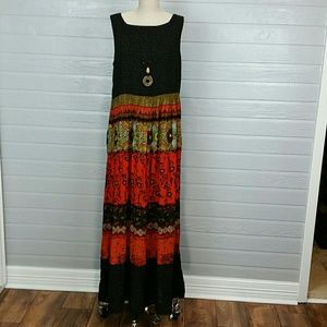 Maxi Dress Size 12 Saint Tropez West